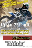 HaneyArt RideNow Powersports Invetory Blow Out Promotional Poster
