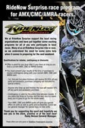 HaneyArt RideNow Powersports AMX/CMC/AMRA Race Program Promotional Poster